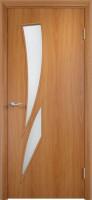 Дверь межкомнатная С-2 (Остеклённая) Миланский орех