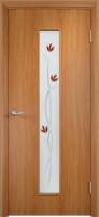 Дверь межкомнатная С-17 (Фьюзинг) Миланский орех