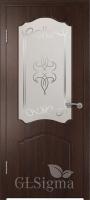 Дверь межкомнатная Сигма 32 ДО Венге