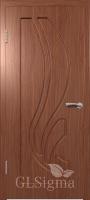 Дверь межкомнатная Сигма 81 ДГ Итальянский орех