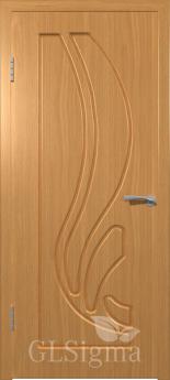 Дверь межкомнатная Сигма 81 ДГ Миланский орех