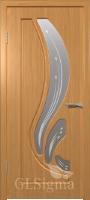 Дверь межкомнатная Сигма 82 ДО Миланский орех