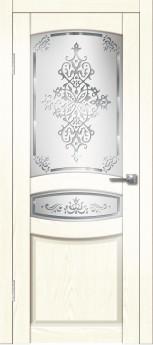 Дверь межкомнатная Гармония ДО Сандал белый