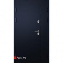 Входная дверь Фортеза Хаски 4/2 | Встроенная система обогрева двери