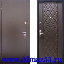Входная дверь Алмаз Циркон Венге