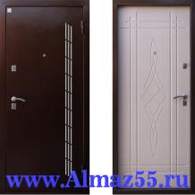 Входная дверь Алмаз Лазурит 3