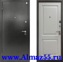Входная дверь Алмаз Турмалин Белый софт