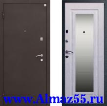 Входная дверь Алмаз-11 Зеркало
