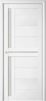 Дверь межкомнатная Палермо-1 Белый жемчуг